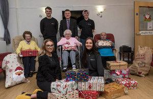 Sellafield Ltd Apprentice Council Shoe Box Christmas Appeal