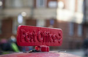 Post Office sign (credit:iStock/jivz)