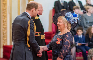 The Duke of Cambridge asked about Dorothy's work to decommission the legacy ponds