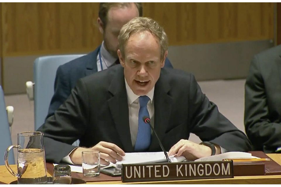 Ambassador Matthew Rycroft at the Security Council Open Debate on Addressing Complex Contemporary Challenges to International Peace and Security