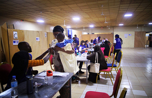 People being assisted by the International Organisation for Migration in Libya. Picture: IOM