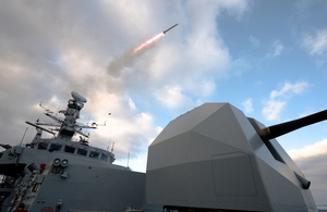 Read the Sea Ceptor missile test firing complete at sea article