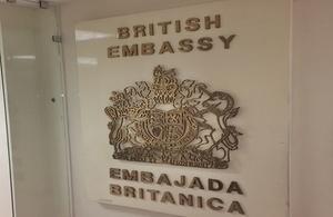 British Embassy statement