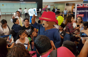 Paddington is a symbol of the strong relationship between Peru and the UK.