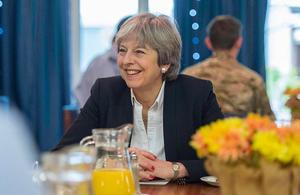 PM Theresa May. Credits: @Number10gov