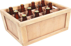 Image of bottles in a crate