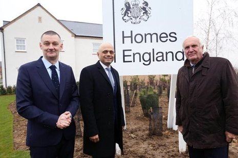 Homes England launch picture