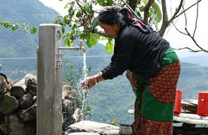 A villager in Nepal
