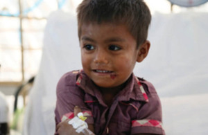 UK funded vaccines save Rohingya children from deadly diphtheria outbreak