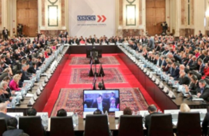 OSCE Ministerial Council Meeting in the Hofburg, Vienna. 7-8 December 2017