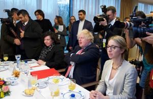 Boris Johnson Brussels