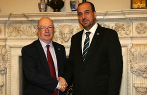 Read the 'Minister for the Middle East statement following meeting with Syrian Opposition' article