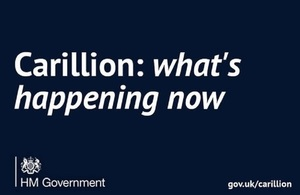 Read what the government is doing following Carillion's collapse