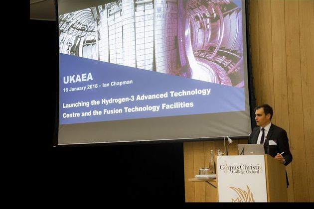 Tom Greatrex, NIA, addressing Industry event
