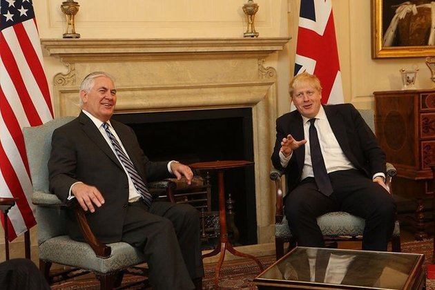 Foreign Secretary meeting with Secretary Tillerson