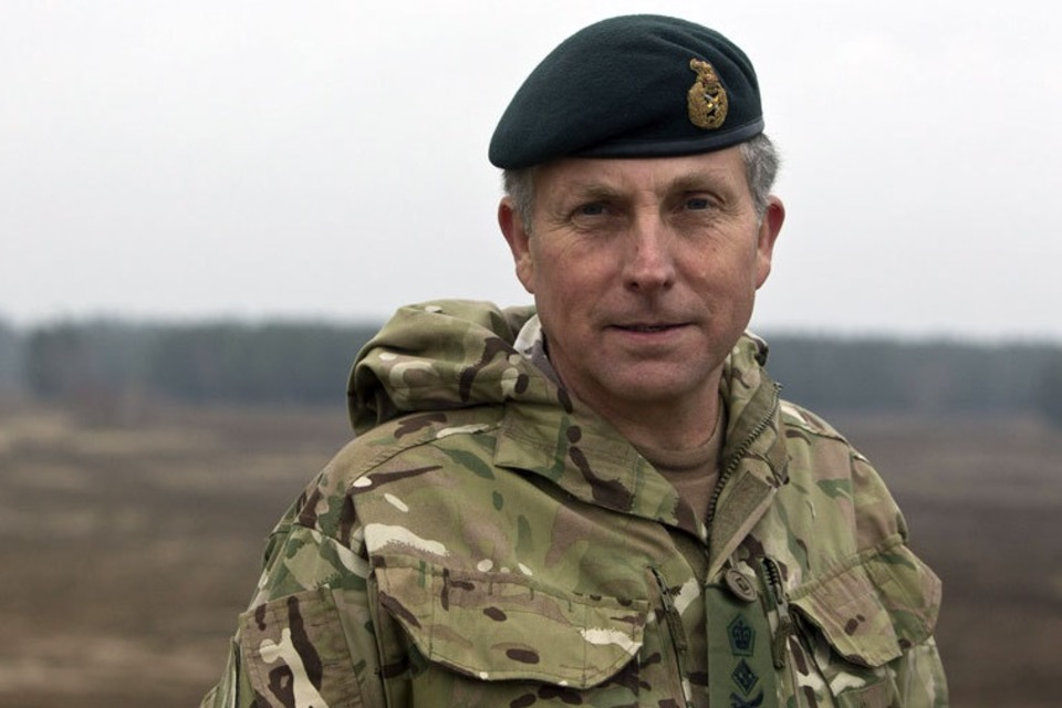 Chief of the General Staff General Sir Nick Carter