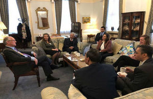 Lord Mayor of Liverpool meets Egyptian officials