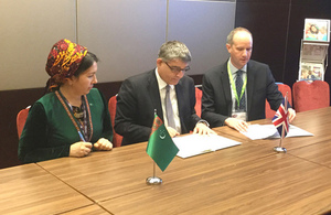 The Turkmen Government signs an agreement with Cambridge University