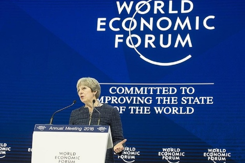 PM's speech at Davos 2018