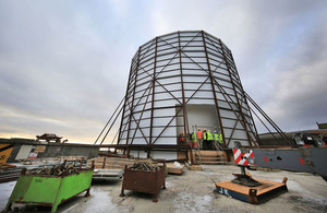 Read New Shetland radar to better protect UK Northern airspace article