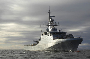 Read New navy warship accepted by Defence Minister article