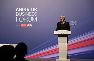 PM Business Forum speech in Shanghai: 2 February 2018