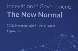 Innovation in Government conference banner