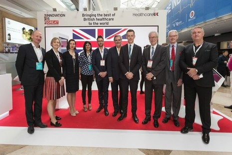 The Healthcare UK delegation at Arab Health 2018