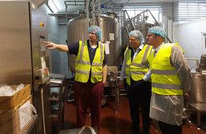 Stuart Andrew MP visits Radnor Hills