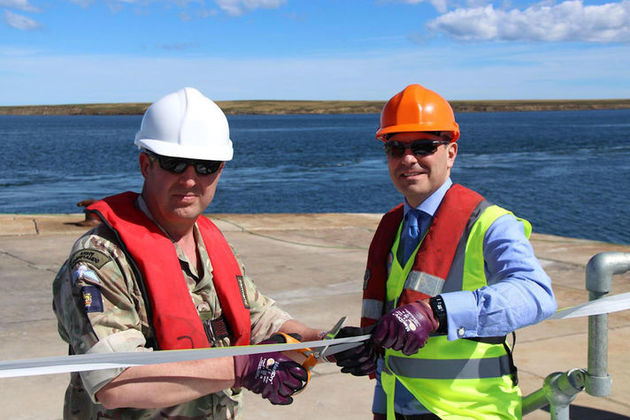 Read the improvements to Mare Harbour jetty in Falklands complete article