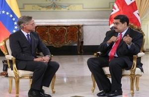 HMA to Venezuela presented his Credentials
