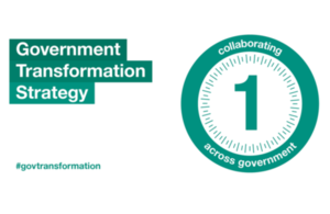 Government Transformation Strategy 1st anniversary graphic