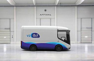 Picture of a v2go van.