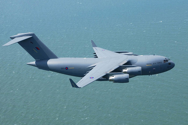 A £260 million agreement with the United States Government to support RAF C-17 heavy lift transport aircraft into the next decade has been signed by the MOD