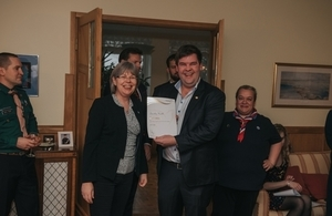 The Duke of Edinburgh's Award launched in Estonia