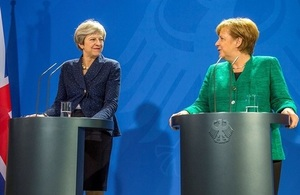 Read 'PM press conference with Chancellor Merkel: 16 February 2018