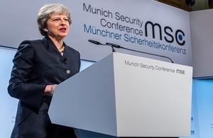 Read 'PM speech at MSC: 17 February 2018'