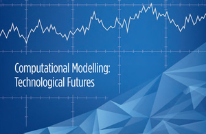 Detail from the front cover of the computational modelling report.