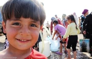 Syrian child.