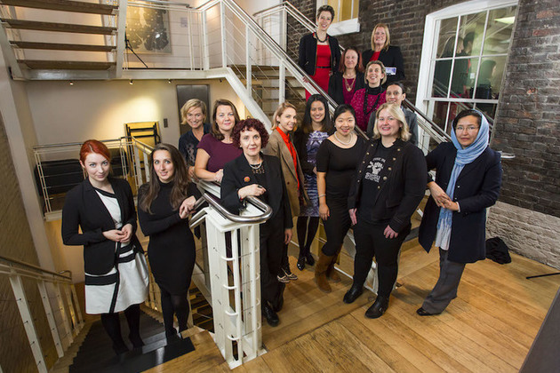 Group shot of Women in Innovation award winners.