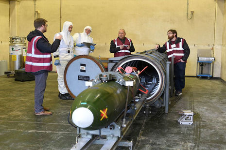 Read the UK hosts international nuclear disarmament verification exercise article