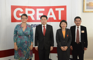 UK and Thailand collaborate on teaching practice