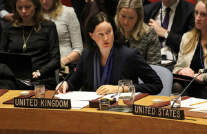 Ambassador Ruth Andreyeva in the Security Council Briefing on Afghanistan