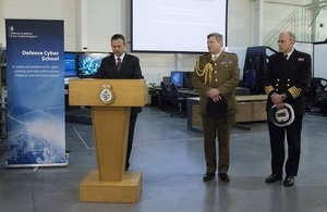 Read the UK steps up cyber defence article