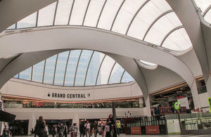 Redeveloped New Street Station, Birmingham