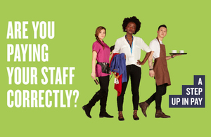 NMW campaign image - Are you paying your staff correctly?