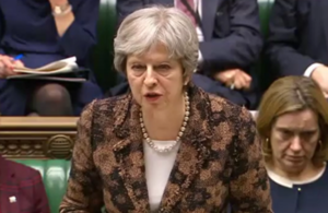 PM Commons statement on Salisbury incident