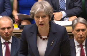 PM Commons Statement on Salisbury incident response: 14 March 2018