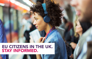 EU citizens in the UK - stay informed