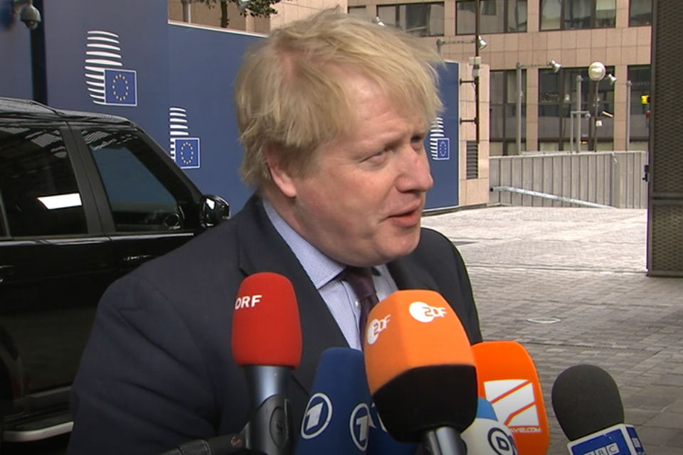 Salisbury attack: Foreign Secretary's remarks to media at the March 2018